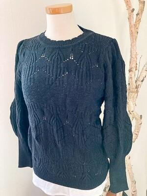EsQualo Detailed Stitch Sweater