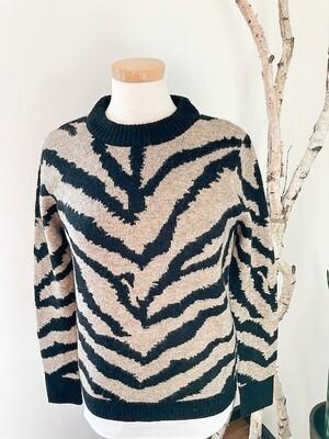 Karen Kane Zebra Print Sweater