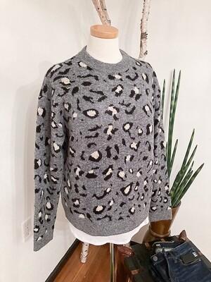 Karen Kane Cheetah Print Sweater