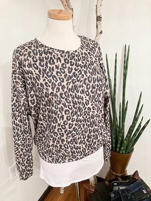 Karen Kane Cheetah Print Knit