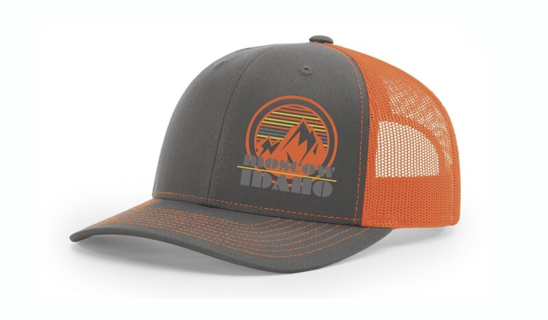 Neon Orange Moscow, Idaho Hat