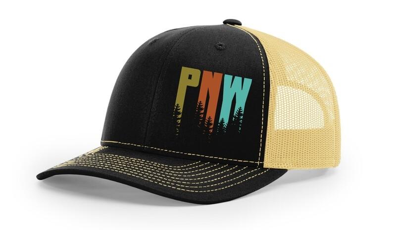 Cream/Black PNW Hat