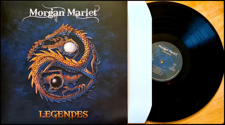 LP 33t vinyle LégendeS - Morgan Marlet