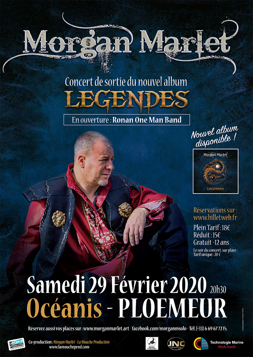 Affiche collector concert 29.02.2020
