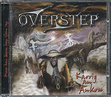 "CD Album OVERSTEP ""Karrig an Ankou"""