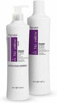Fanola Shampoo & Mask (Made in Italy)