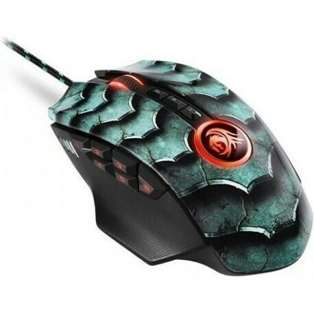 Sharkoon Drakonia II Gaming Laser Mouse with adjustable weights - 15000 DPI