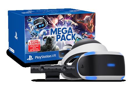 PlayStation VR Console - PSVR MegaPack 2