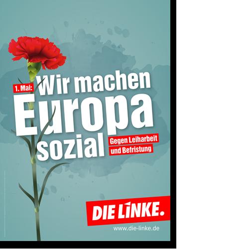 """Plakat """"1. Mai - Europa"""""""
