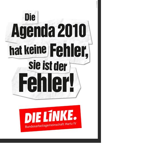 "Plakat ""Agenda 2010"""