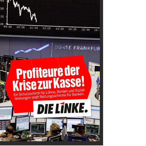"Plakat ""Eurokrise"""