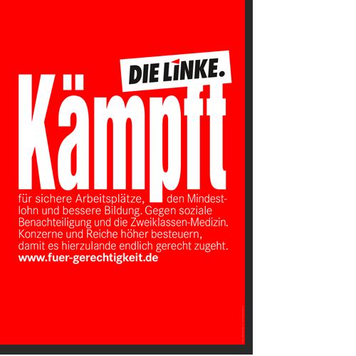 """Plakat """"Kämpft"""""""