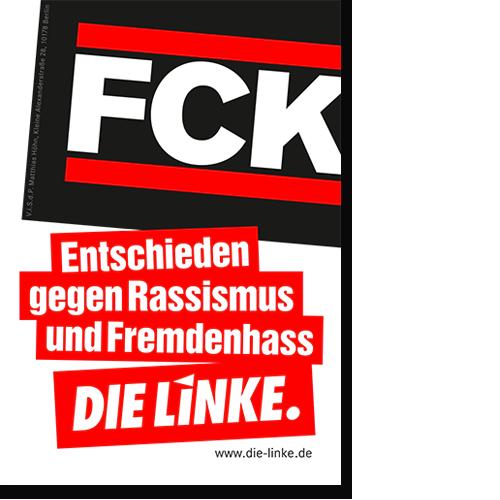 "Aufkleber ""FCK"""