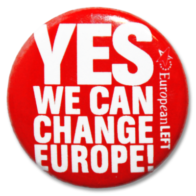 Button European Left