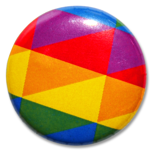 """Button """"queer"""""""
