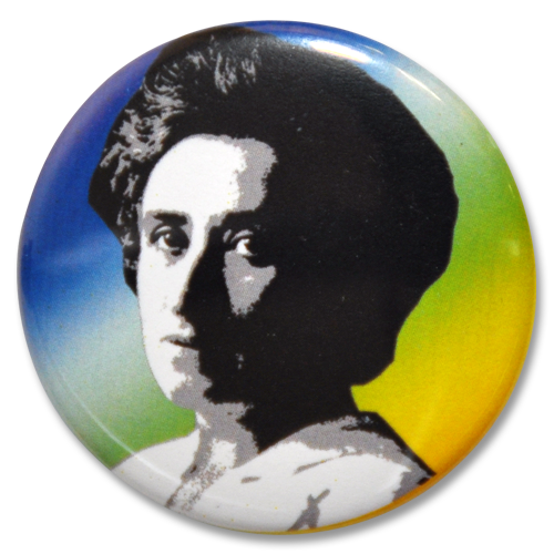 "Button ""Rosa Luxemburg"""