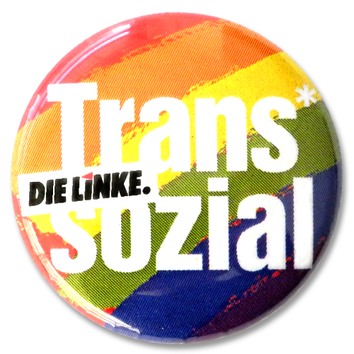 "Button ""Trans Sozial"""