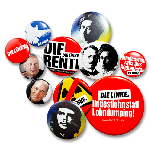 "Button-Mix ""DIE LINKE."" 10+1"