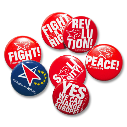 "Button-Mix ""European Left"""