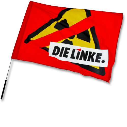 "Fahne ""Anti-Atomkraft"""