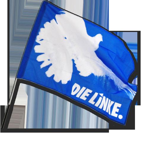 """Fahne """"Friedenstaube"""" ohne Stab"""