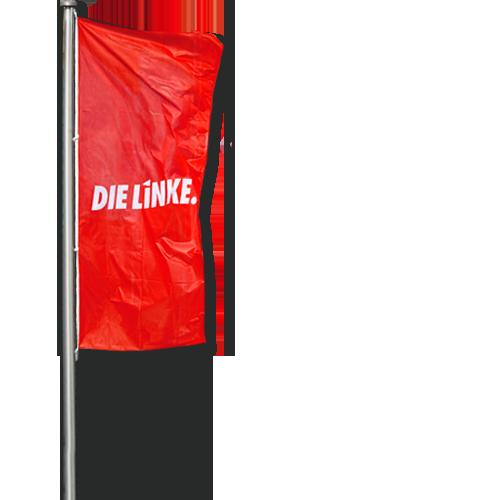 """Mastfahne """"DIE LINKE."""""""