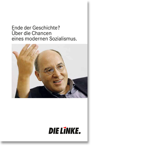 """Broschüre """"Gysi in Marburg"""""""
