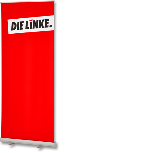 "Roll-Up ""DIE LINKE."""