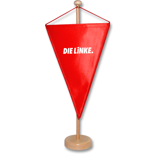 "Tischwimpel ""DIE LINKE."""