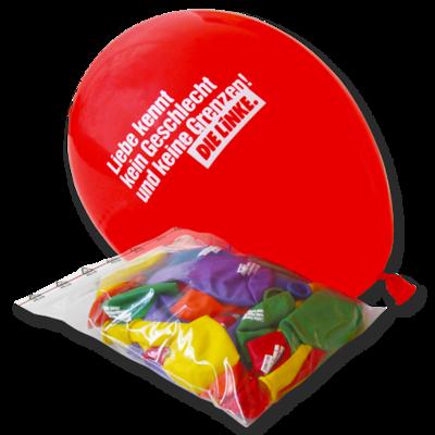 """Luftballon-Set """"Liebe"""" DIE LINKE."""