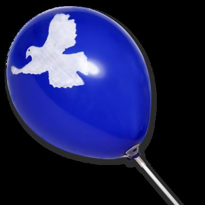 """Luftballon """"Friedenstaube"""""""