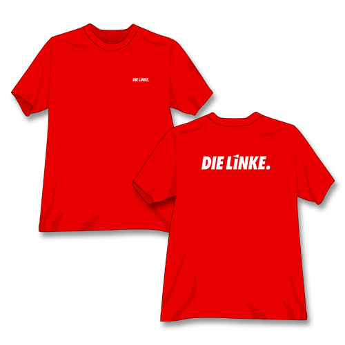 "T-Shirt ""DIE LINKE."""