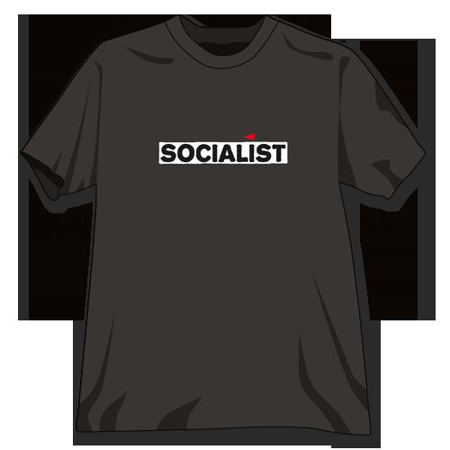"T-Shirt Bio-Baumwolle ""Socialist"""