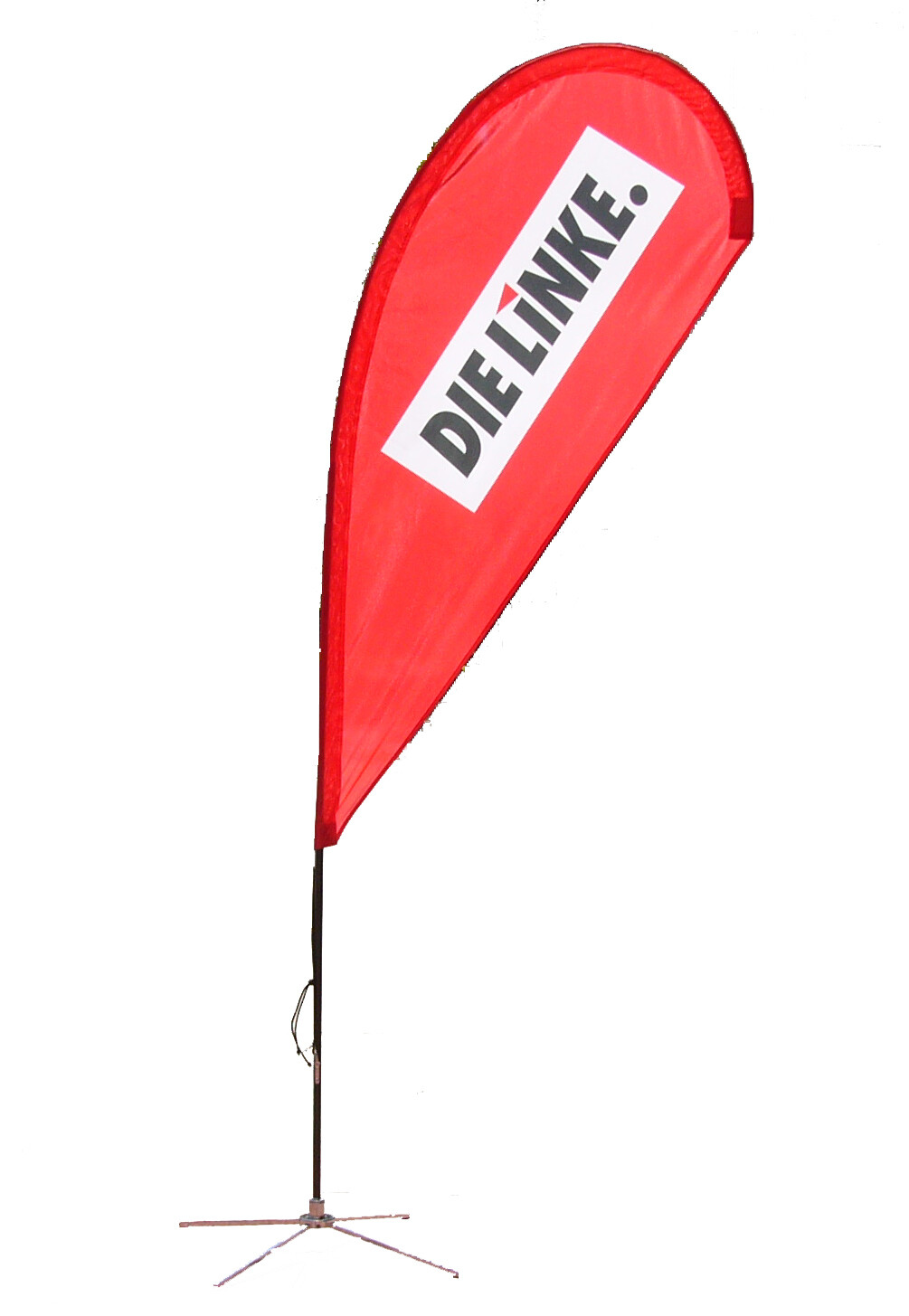 "Beach Flag ""DIE LINKE."""