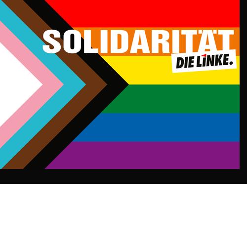 "Aufkleber ""Solidarität"""
