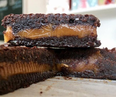 Salted Caramel Fudge Brownie
