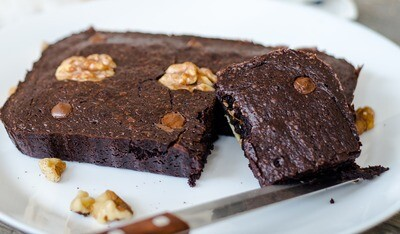 Original Fudge Brownie with Walnut