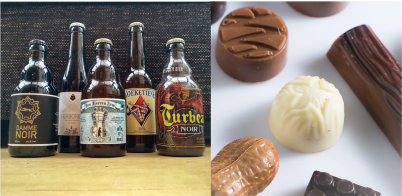 Bierpakket Bier en Chocolade met online degustatie