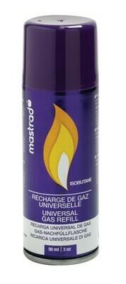 RECHARGE DE GAZ UNIVERSEL POUR CHALUMEAU