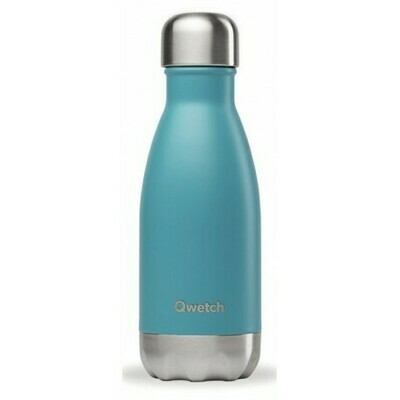 BOUTEILLE ISOTHERME BLEU TURQUOISE 26CL QWETCH