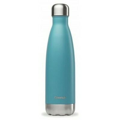 BOUTEILLE ISOTHERME BLEU TURQUOISE 50CL QWETCH
