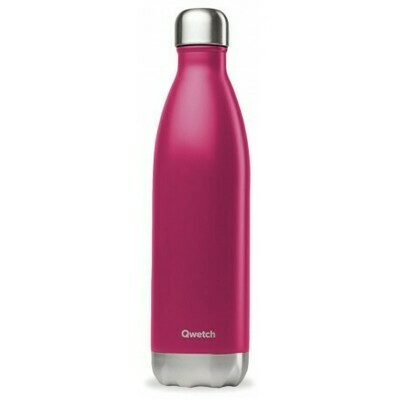 BOUTEILLE ISOTHERME MAGENTA 75CL QWETCH