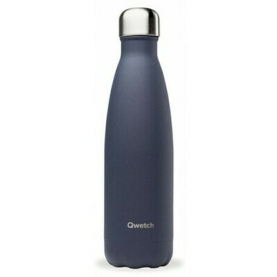 BOUTEILLE ISOTHERME GRANITE BLEU NUIT 50CL QWETCH