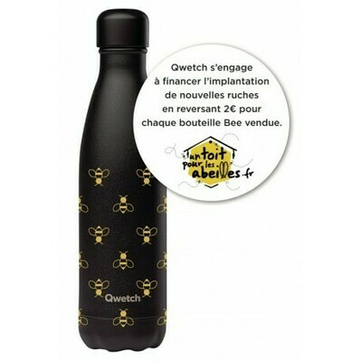 BOUTEILLE ISOTHERME BEE 50CL QWETCH