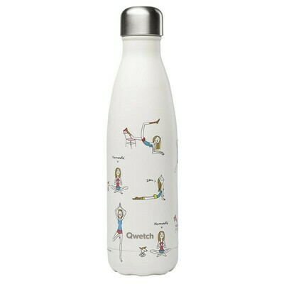 BOUTEILLE ISOTHERME YOGA BY SOLEDAD 50CL QWETCH
