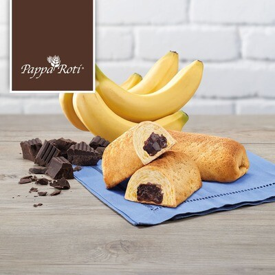 Chocolate Banana Rollie (2pcs)