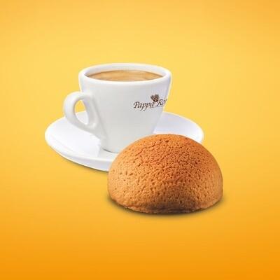Hot  Drink + Papparoti Signature Bun