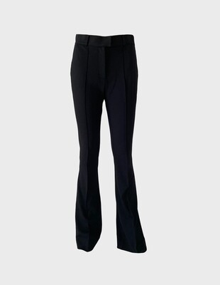 JERSEY TROUSERS IN BLACK