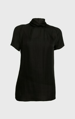 SILK BLOUSE IN BLACK