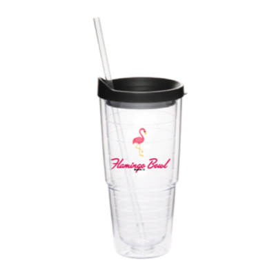Flamingo Bowl Tumbler